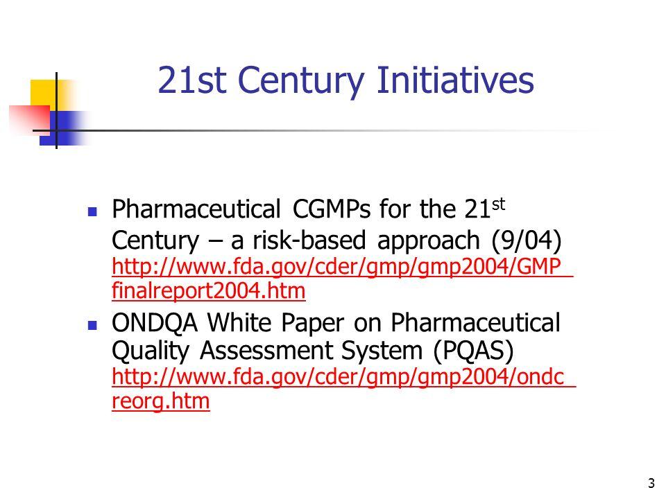 21st Century Initiatives