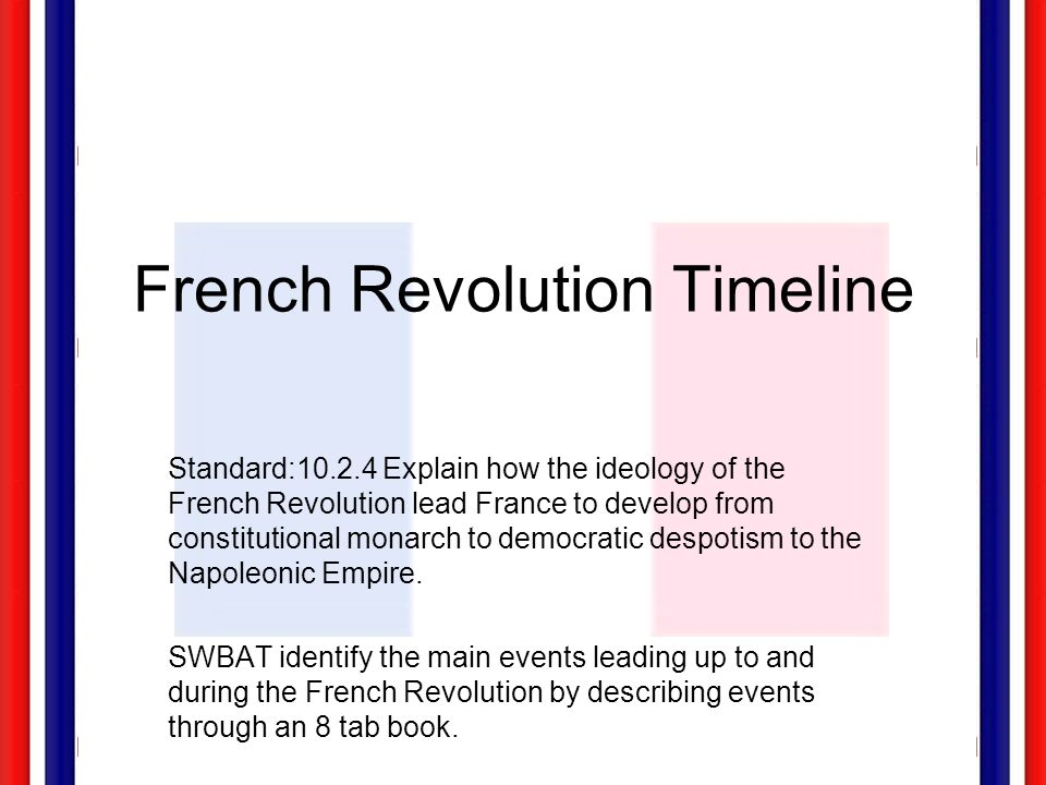 an analysis of the main cause of french revolution Identify and assess the causes of the french revolution primary source analysis: the french republican army suffered a major defeat with the defection from.