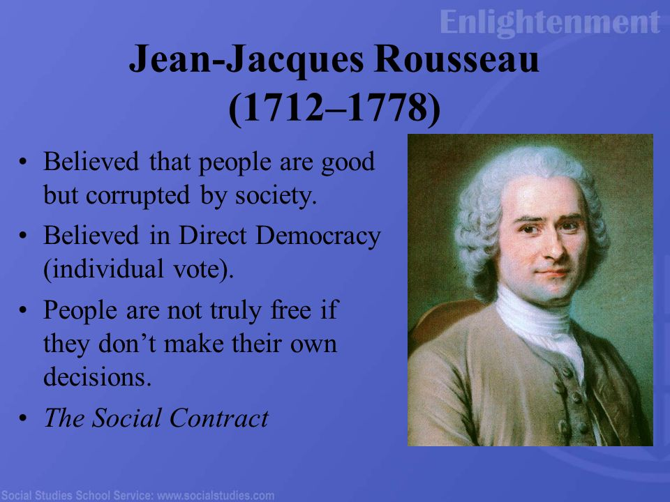 Rousseaus Social Contract: A Critical Response