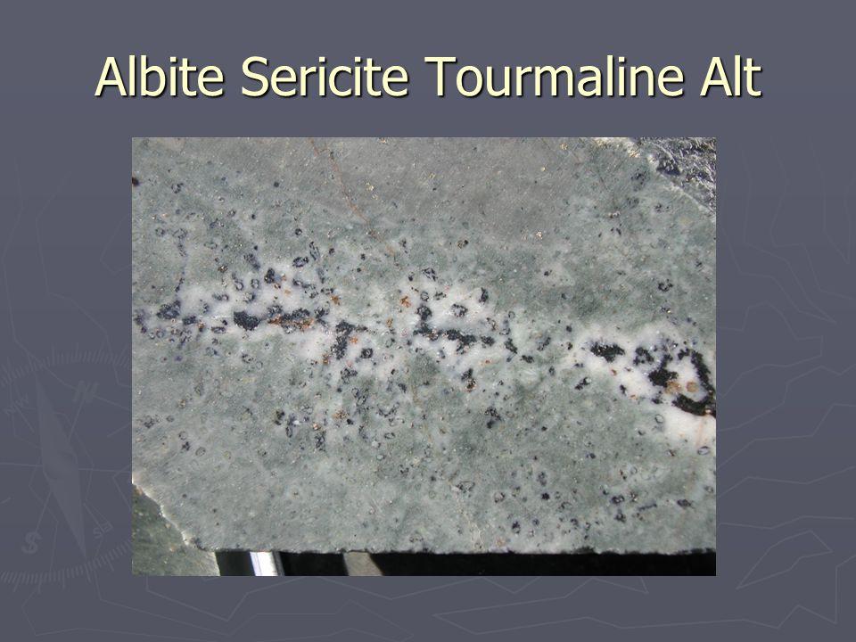 Albite Sericite Tourmaline Alt