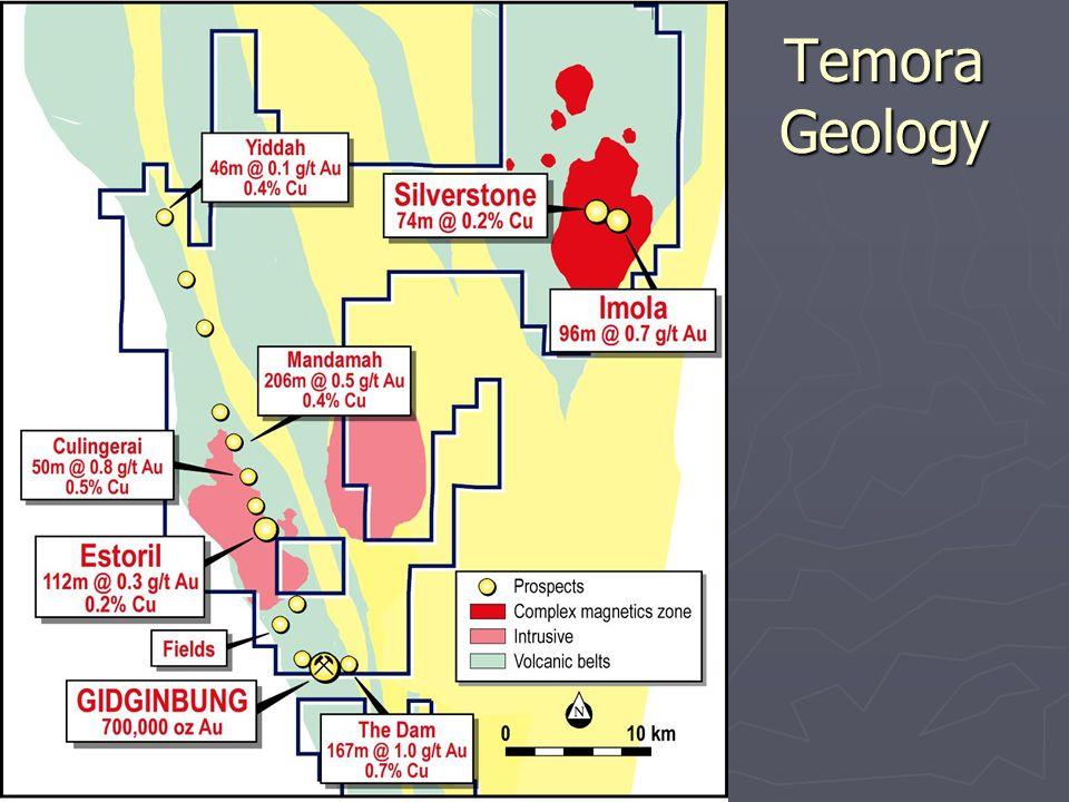 Temora Geology