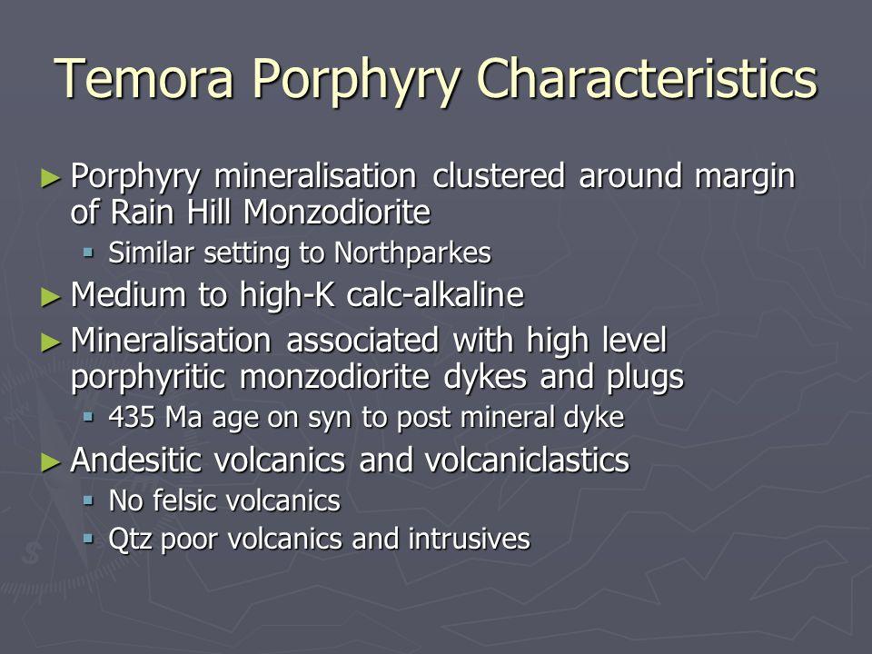 Temora Porphyry Characteristics