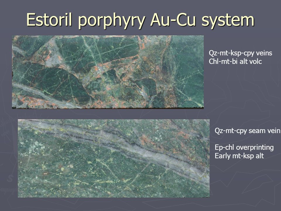 Estoril porphyry Au-Cu system