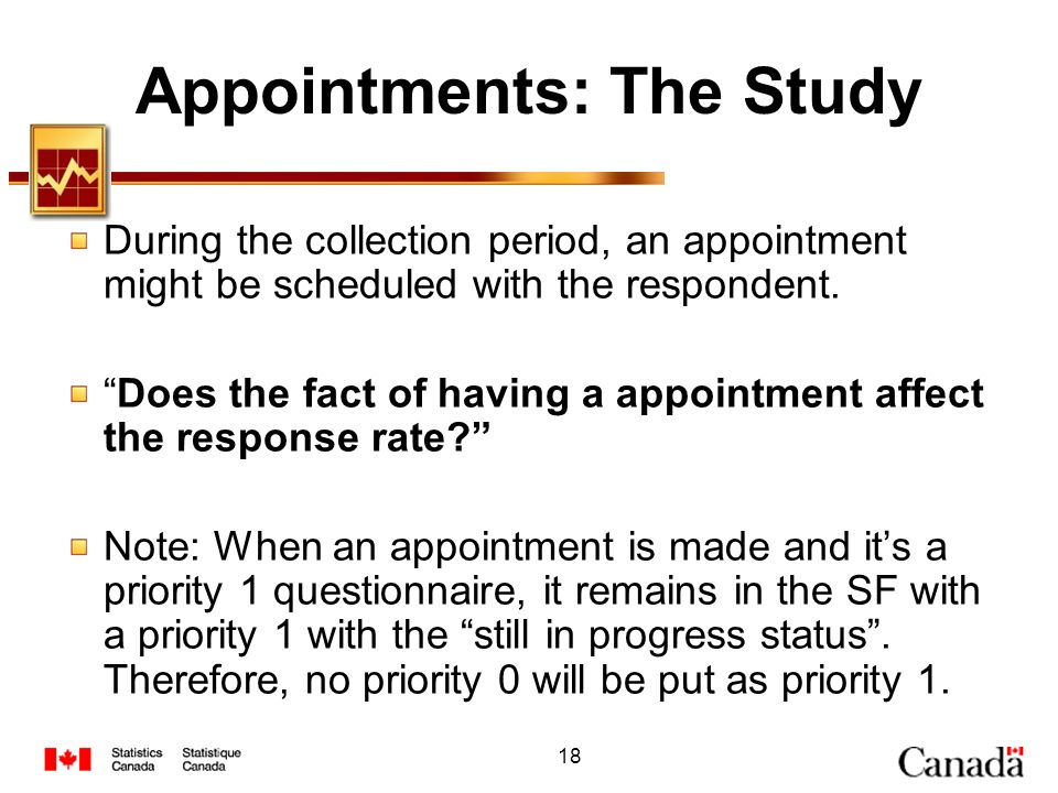 Appointments: The Study