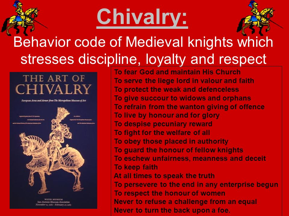 what is chivalry