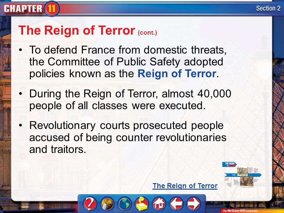 the reign of terror directed by the committee of public safety in france Quick answer the committee of public safety exercised executive power in france during the period known as the reign of terror established in march, 1793, when the revolutionary government confronted counterrevolutionaries in france, the committee of public safety became a radical dictatorship presiding over thousands of political.