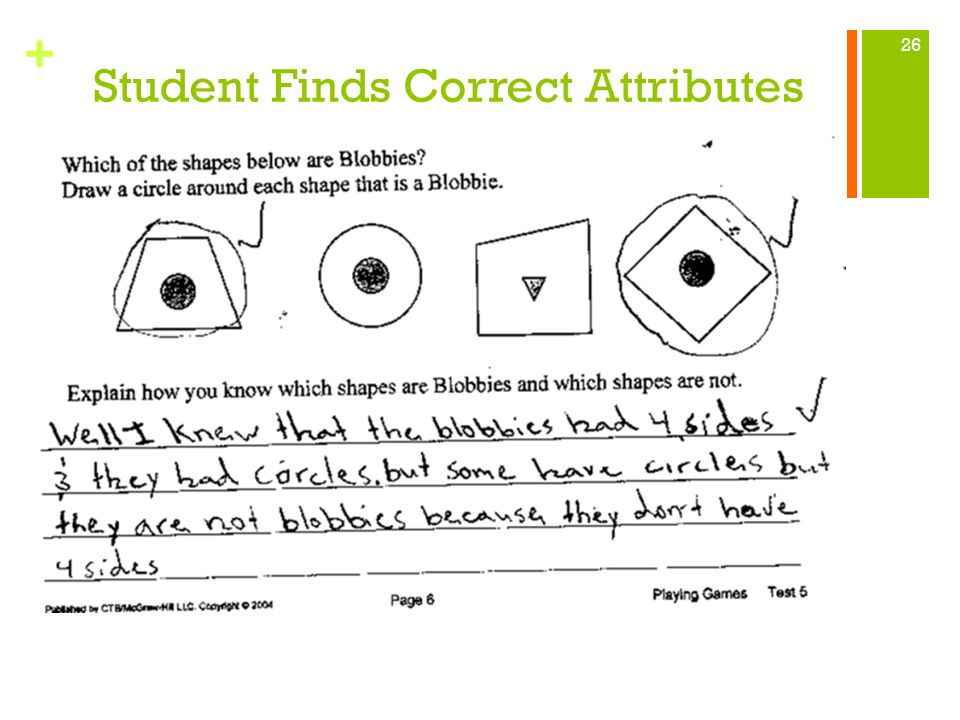 Student Finds Correct Attributes