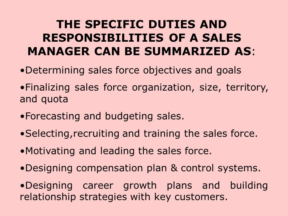 Duties of a Marketing Manager