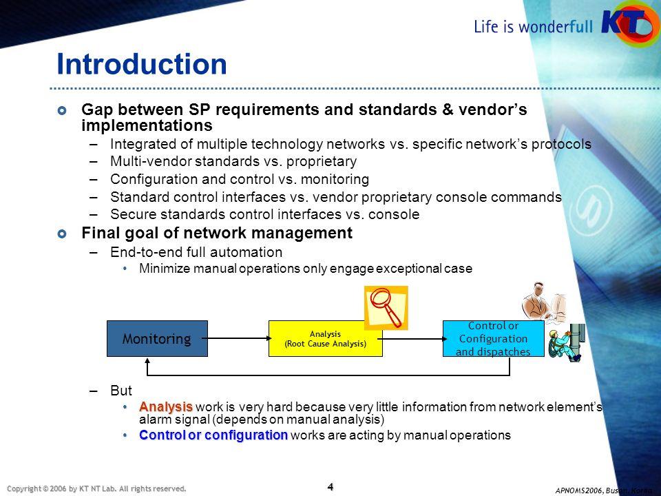 Control or Configuration