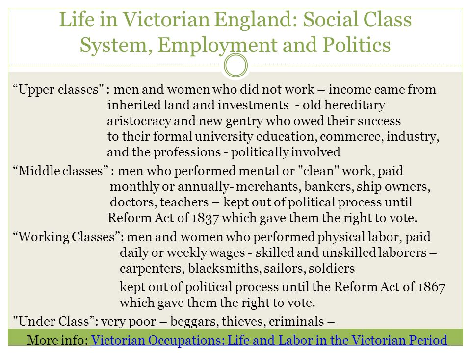 victorian social class in middlemarch and Dorothea brooke's political economy: romanticism and the  dorothea brooke's political economy: romanticism and the influence of john  of social class.