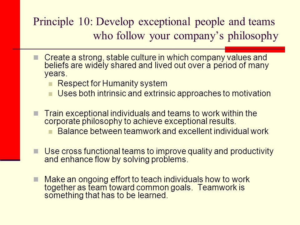 develop individuals and team Build on the strengths of your team members  while individuals who use their strengths every day  this cross-training lets strong employees develop their.