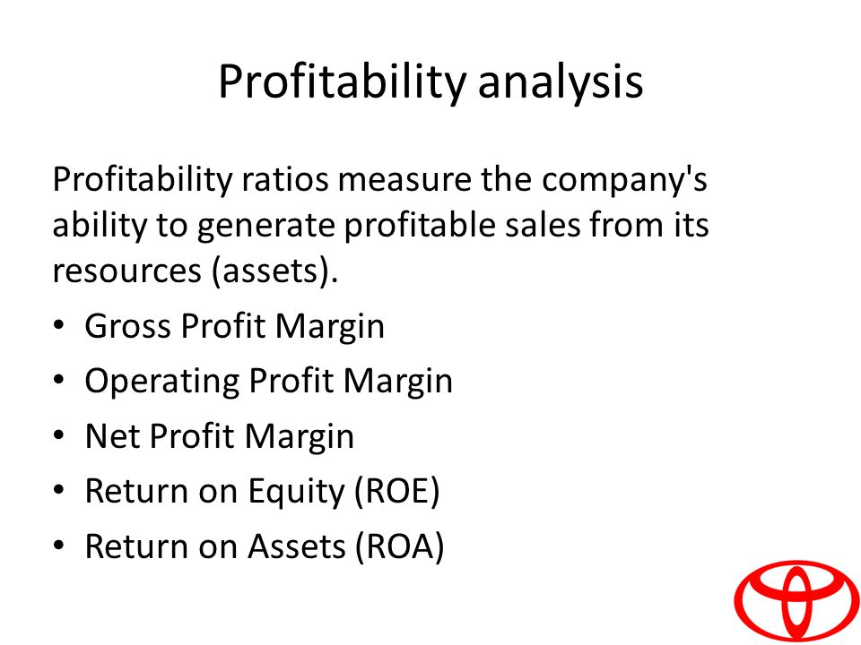 comprehensive analysis on the profitability of companies Analysis tools include: kpi analysis, profitability analysis, cash flow  fathom  provides you with a comprehensive framework of analysis tools, which include:   fathom helps you easily compare, rank and benchmark your companies, clients .