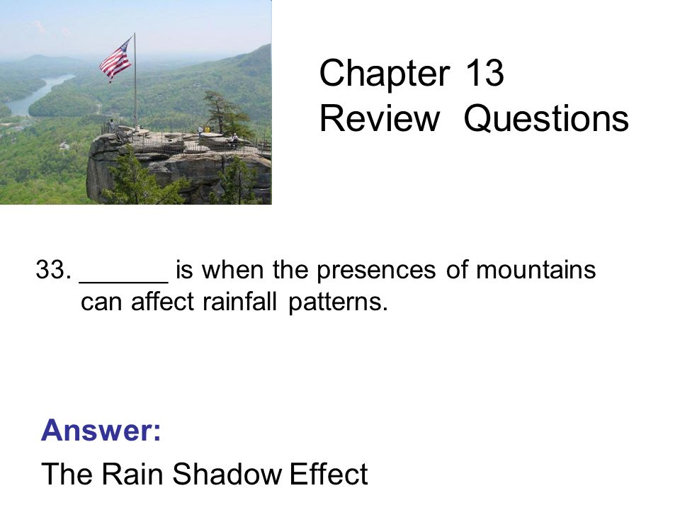 6th Grade Science Chapter 13 The Nonliving Environment Review ...