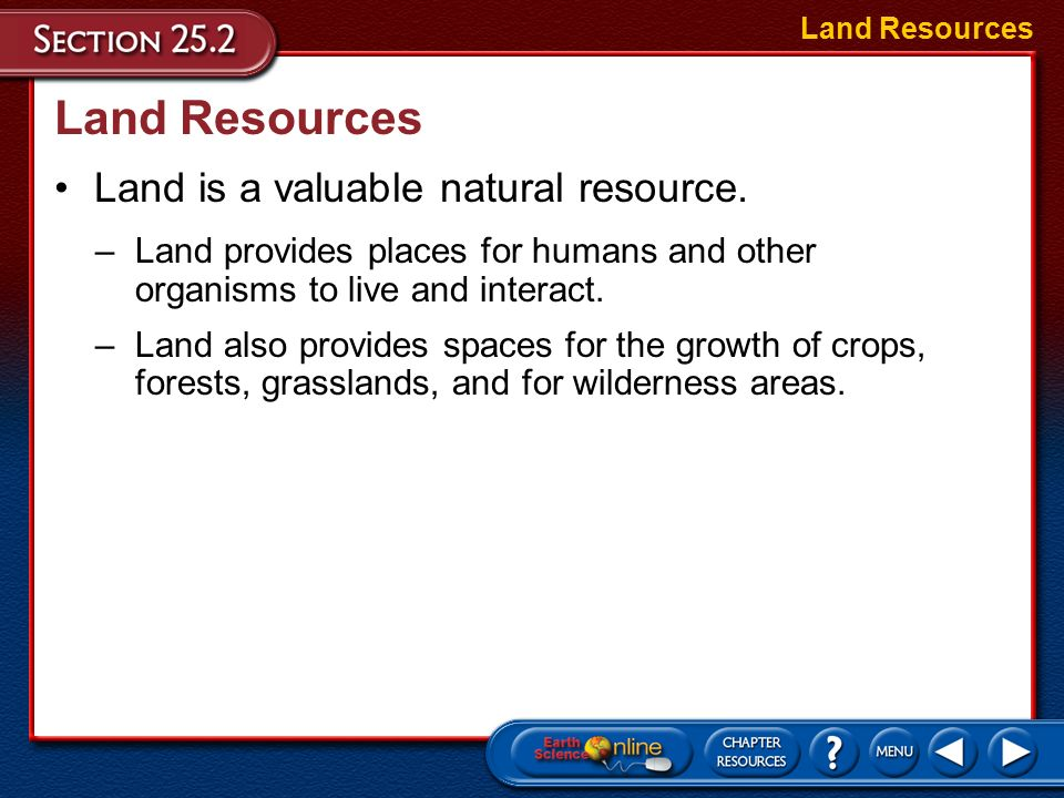 Explain How Organisms Including Humans Use Natural Resources