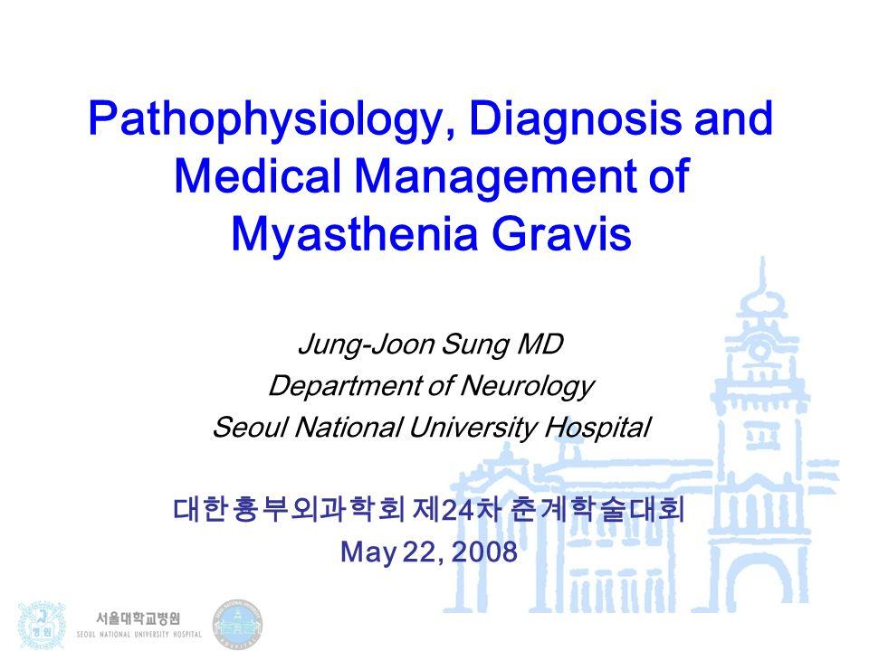 Pathophysiology, Diagnosis and Medical Management of Myasthenia ...