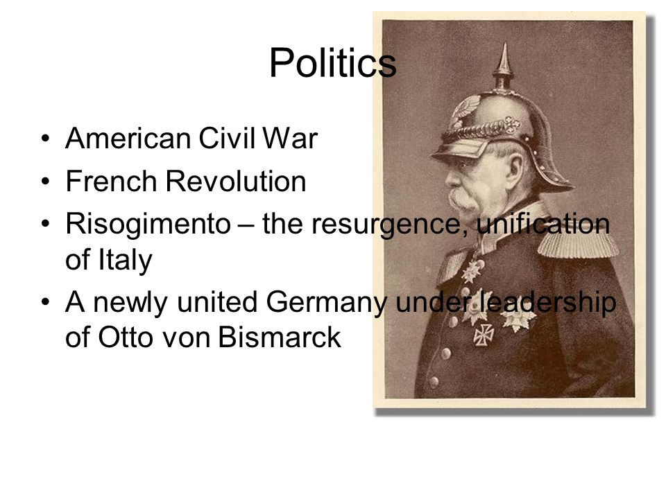 otto von bismarck political opportunist or Otto von bismarck a junker (a prussian term meaning wealthy landowners), otto von bismarck was born in 1815 growing up on a wealthy family estate situated west of berlin in the kingdom of.