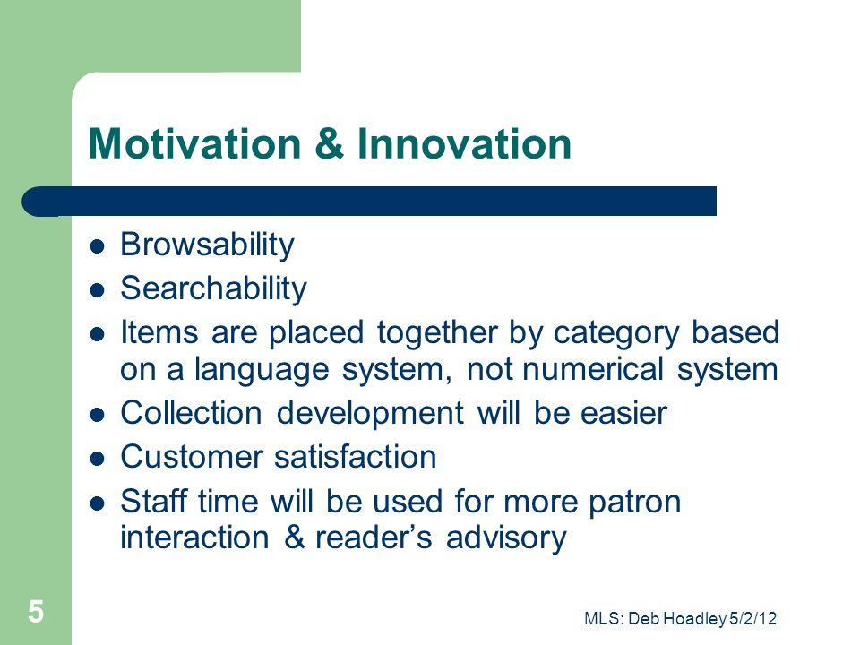 Motivation & Innovation