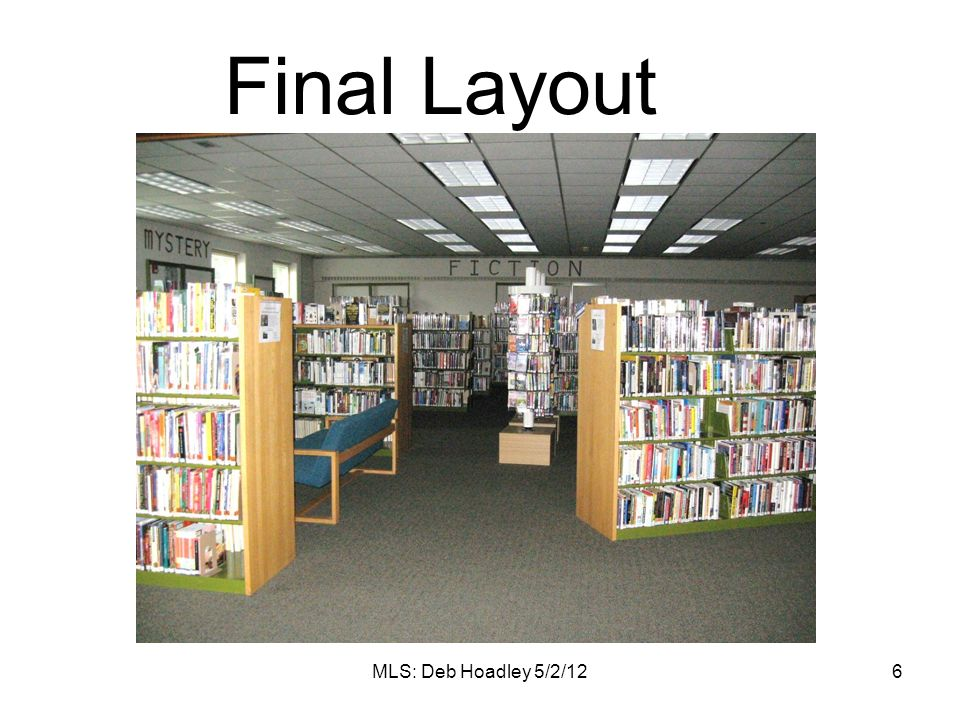 Final Layout MLS: Deb Hoadley 5/2/12