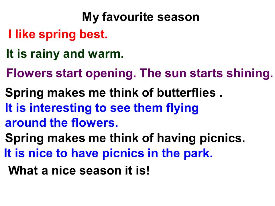 spring is my favorite season Is it summer , spring , fall or winter  take the quiz now and find out   favorite  quizzes & trivia  what season do you enjoy the most  a.