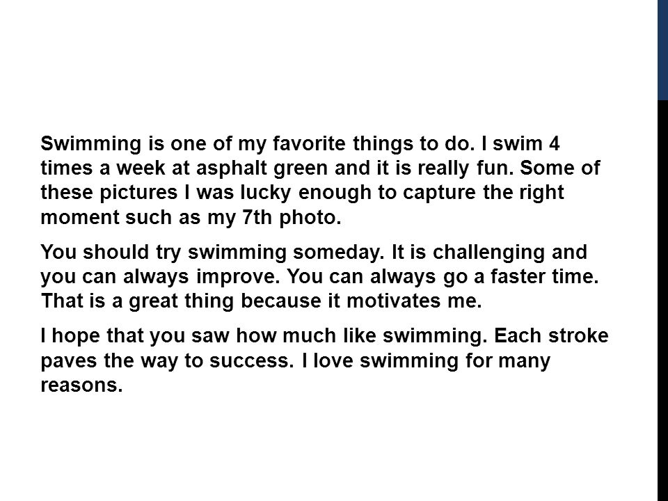 the graceful sport by alex maclennan ppt video online swimming is one of my favorite things to do