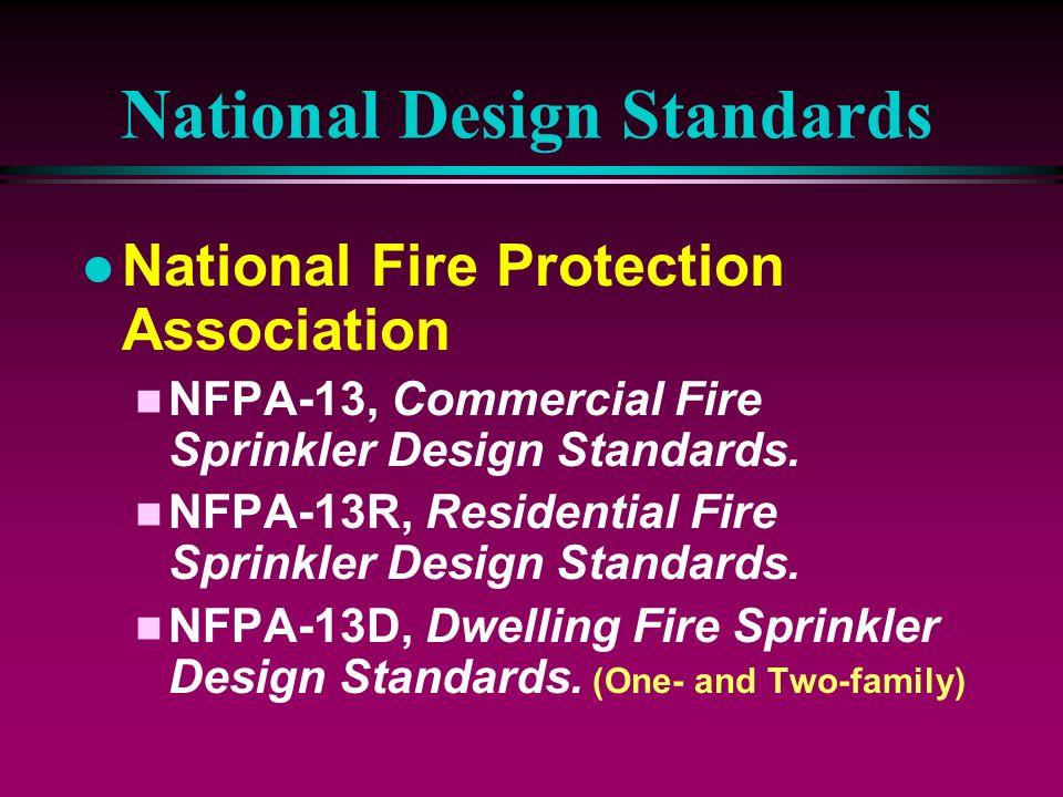 National Design Standards