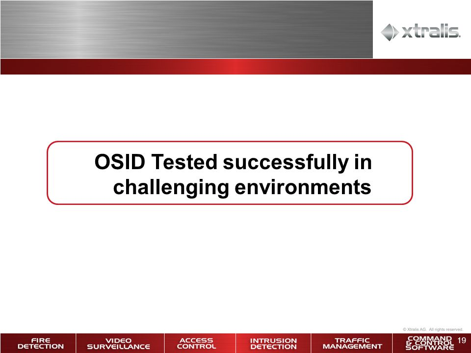 OSID Tested successfully in challenging environments