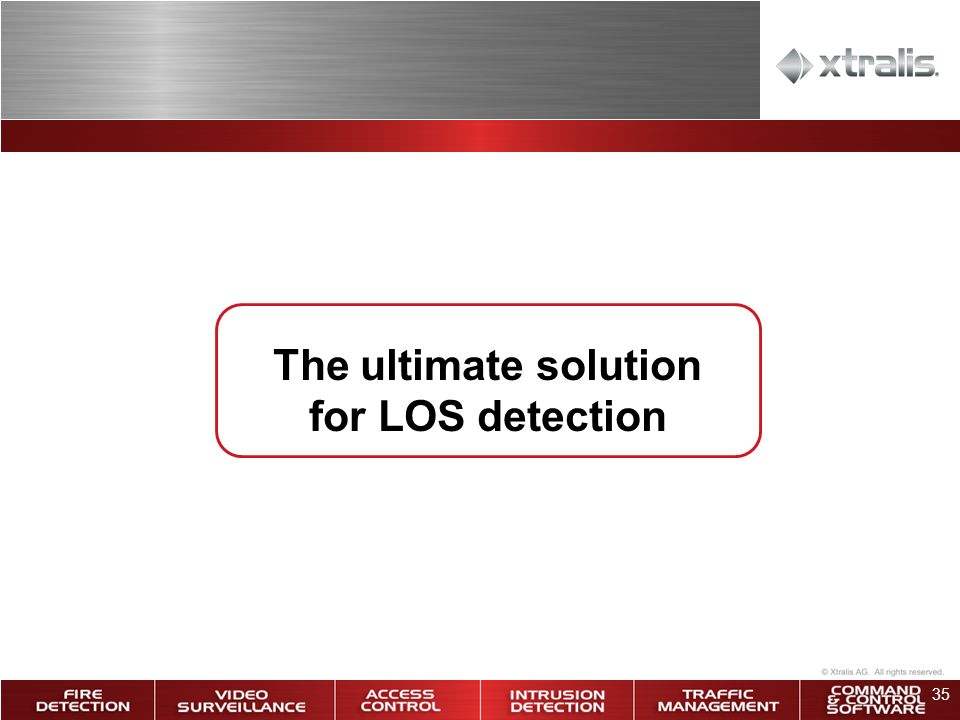 The ultimate solution for LOS detection