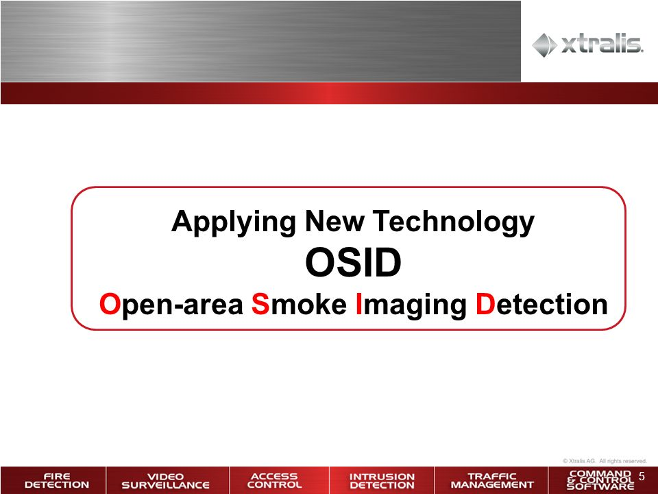 Applying New Technology Open-area Smoke Imaging Detection