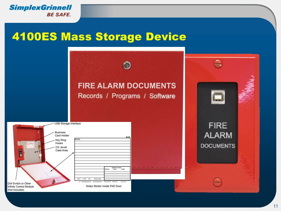 4100ES Mass Storage Device