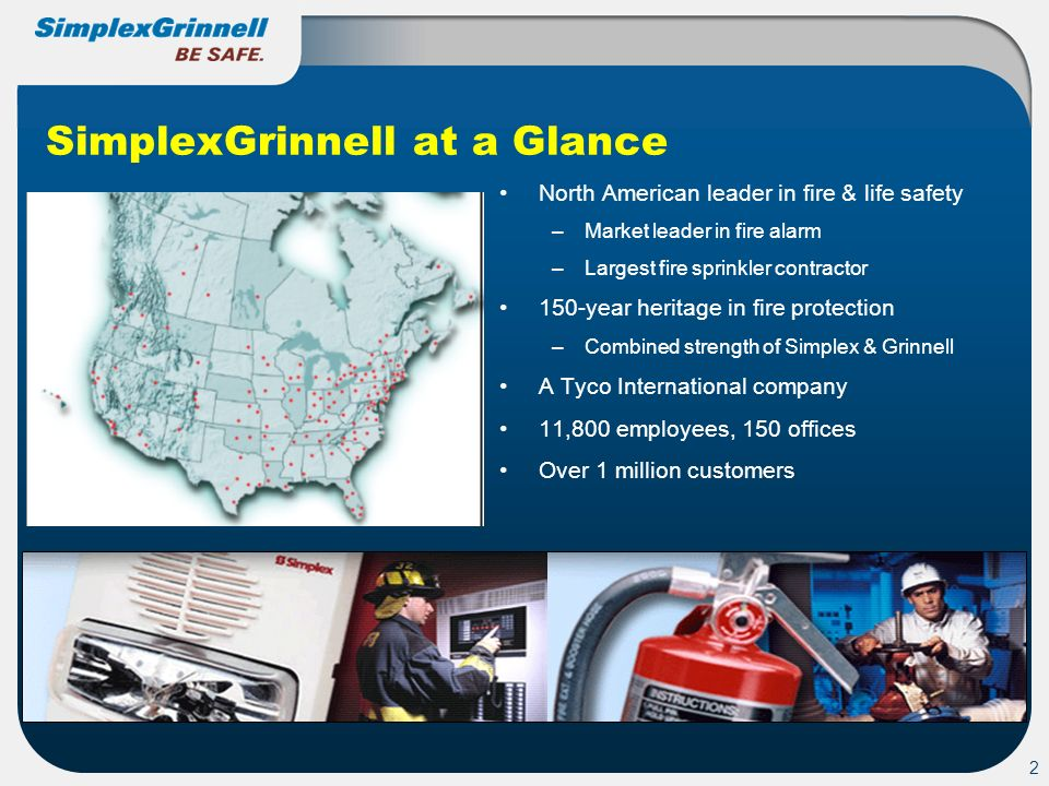 SimplexGrinnell at a Glance