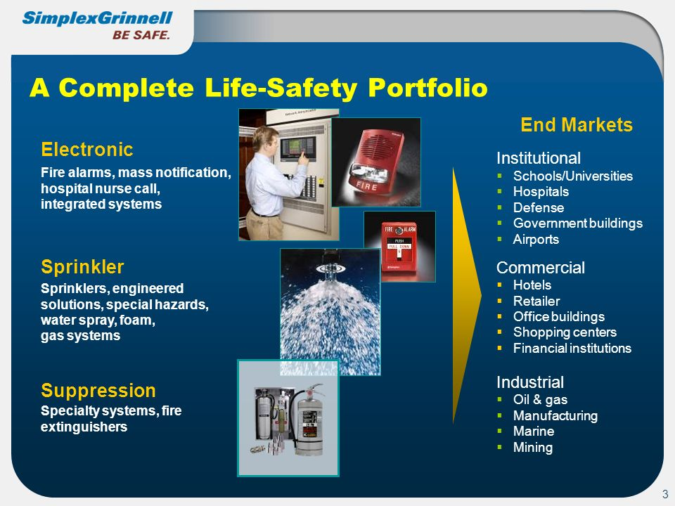 A Complete Life-Safety Portfolio