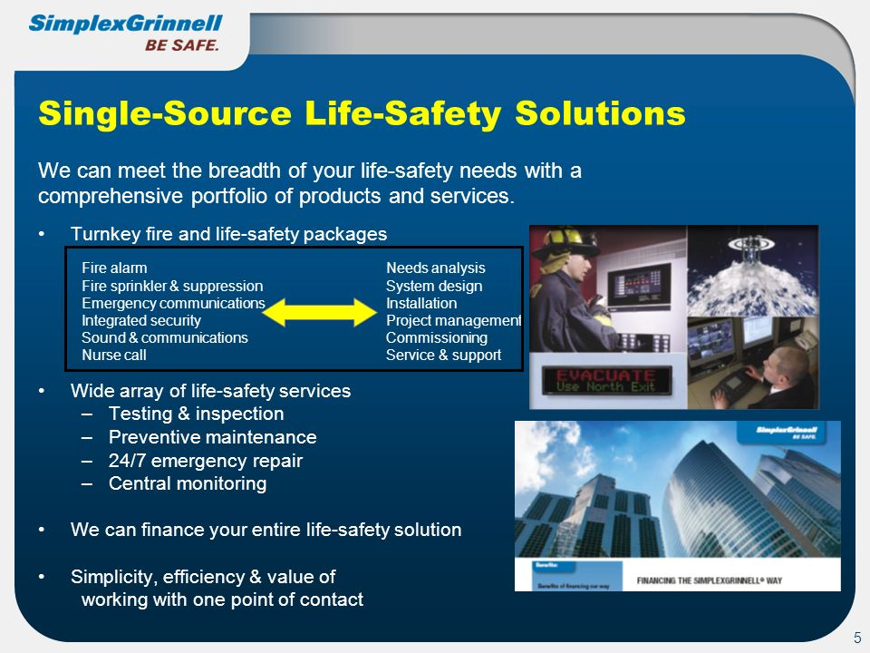 Single-Source Life-Safety Solutions