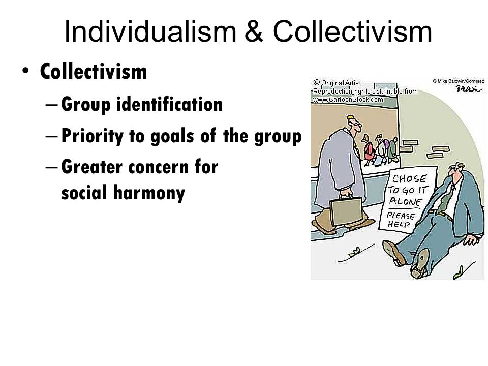 individualism collectivism and team performance Interest focuses mainly on the prediction of group performance (guzzo & dick-   individualism-collectivism and as such, it was important to demonstrate that it.