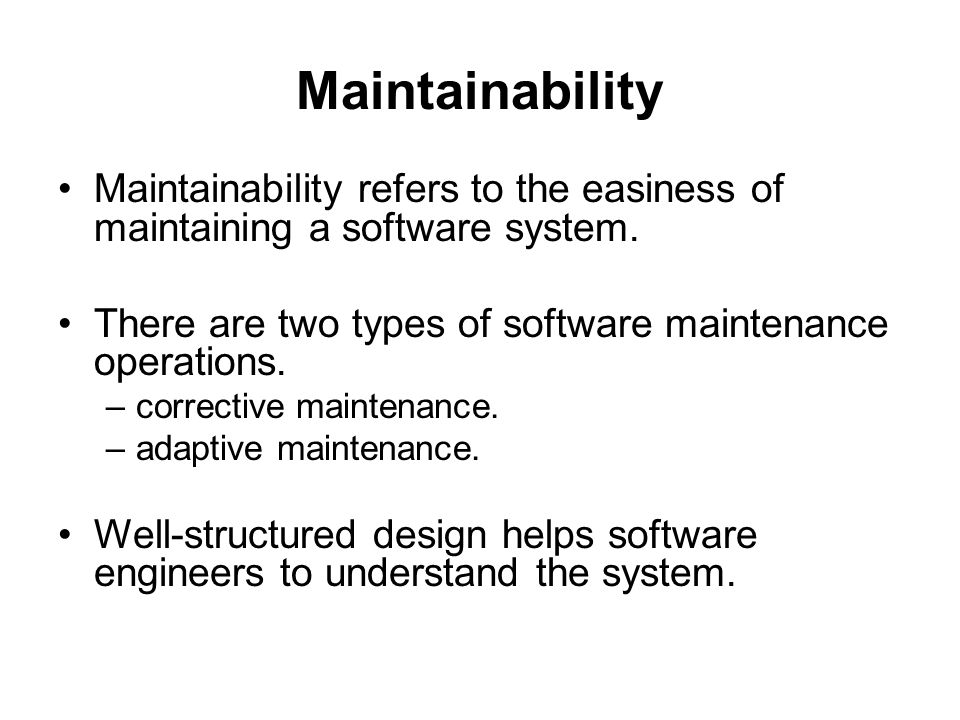Image result for maintaining a software