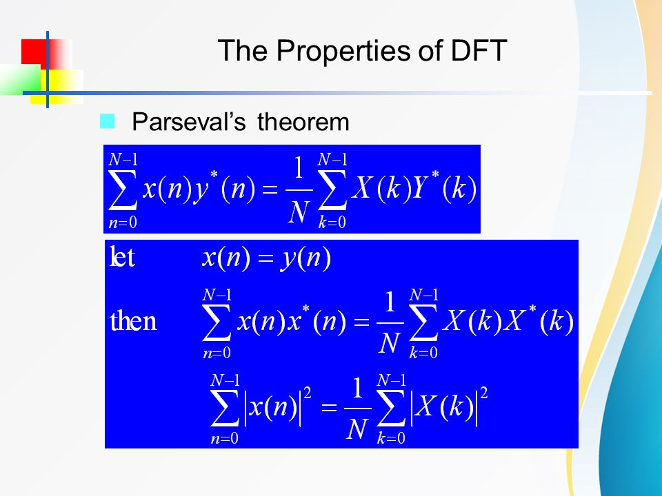 properties of dft Fourier series properties - learn signals and systems in simple and easy steps starting from overview, signal analysis, fourier series, fourier transforms, convolution correlation, sampling.