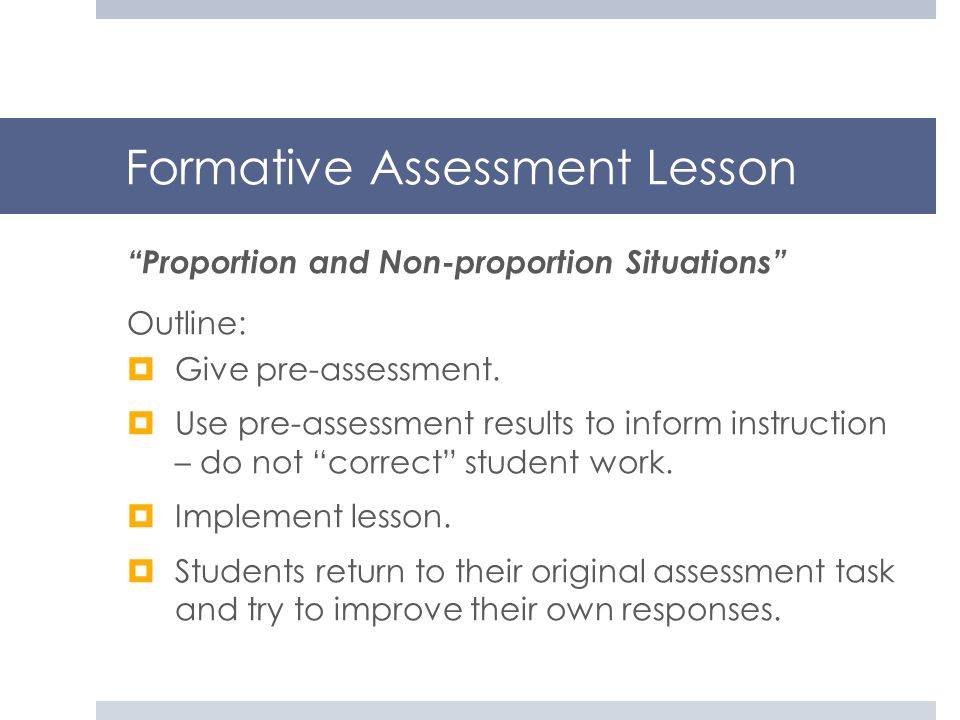 Formative Assessment Lesson