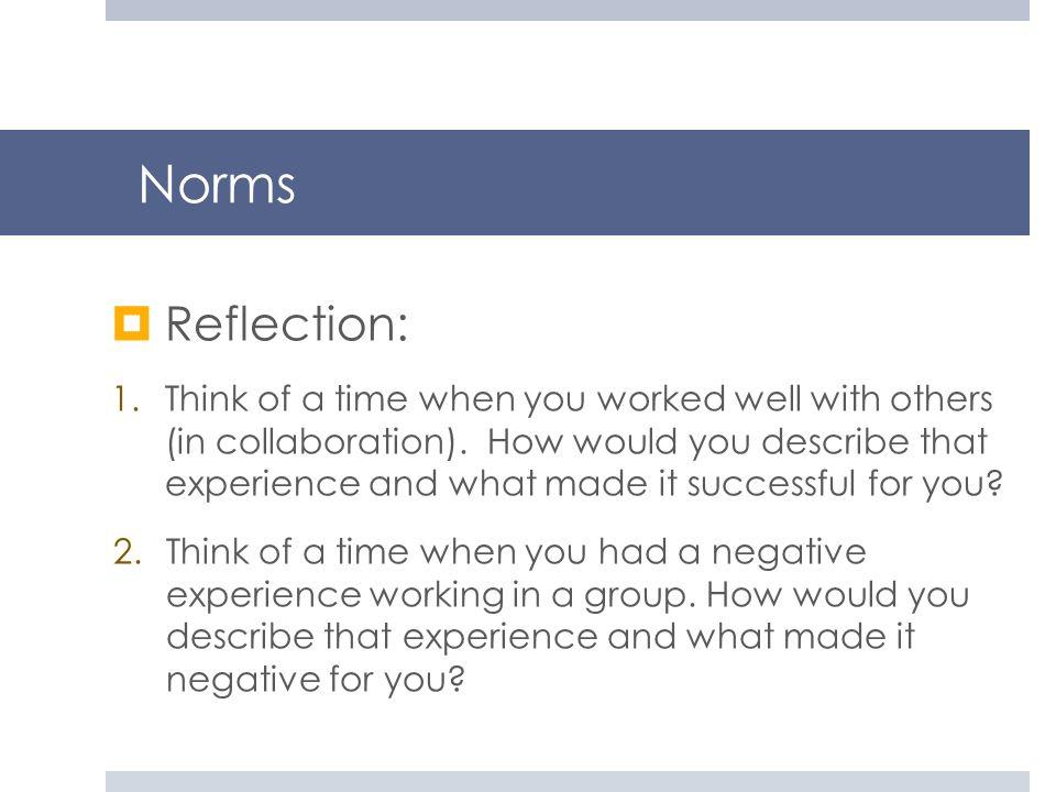 NormsReflection: