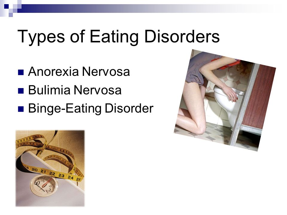 the eating disorder called anorexia nervosa Learn about the types of anorexia, how these eating disorders get diagnosed called anorexia nervosa, is defined by several key characteristics.