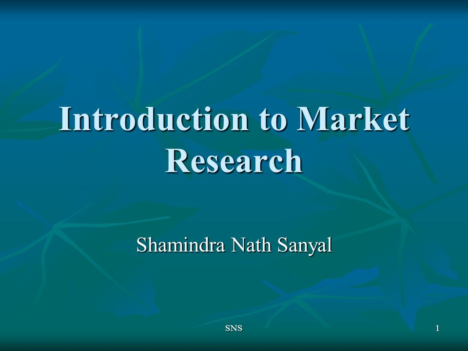 an introduction to the definition of market research Market research, which includes social and opinion research, is the systematic gathering and interpretation of information about individuals or organizations using.