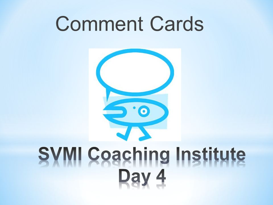 SVMI Coaching Institute Day 4