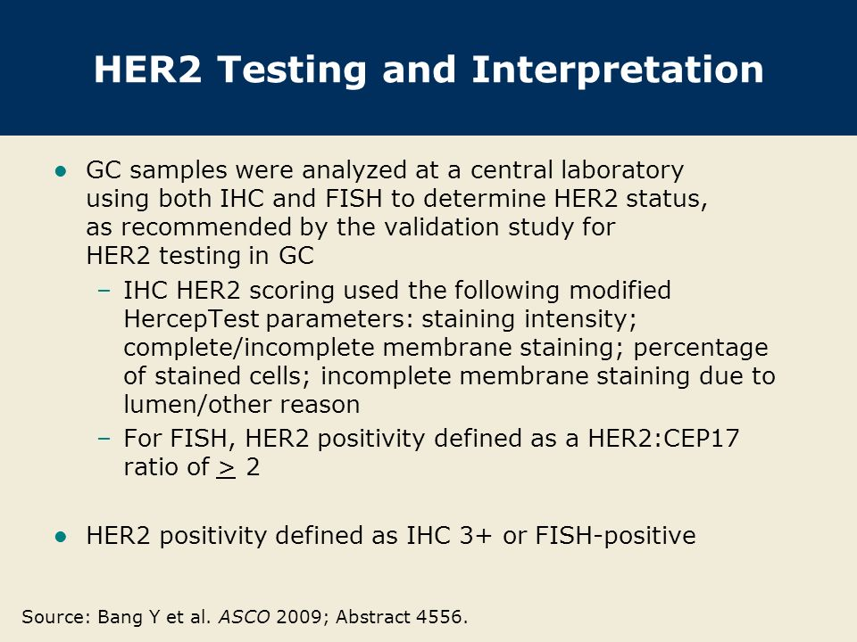 HER2 Testing and Interpretation