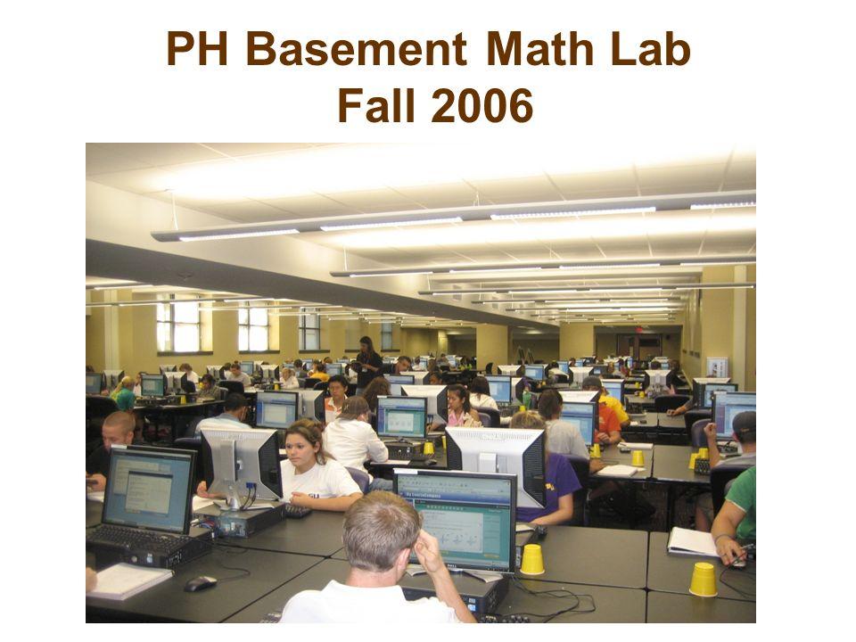 PH Basement Math Lab Fall 2006