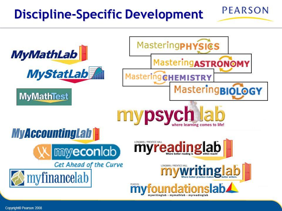 Discipline-Specific Development