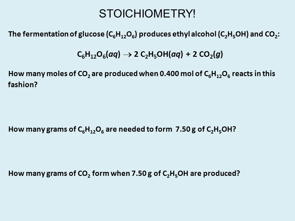 Introduction to Stoichiometry - ppt download