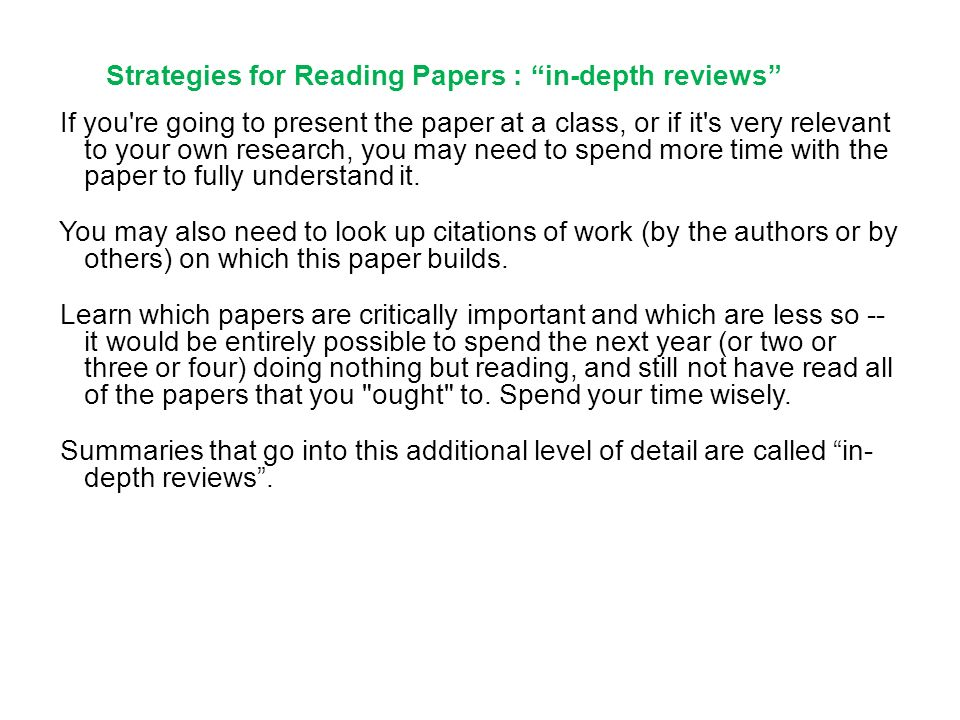 strategies for reading essays