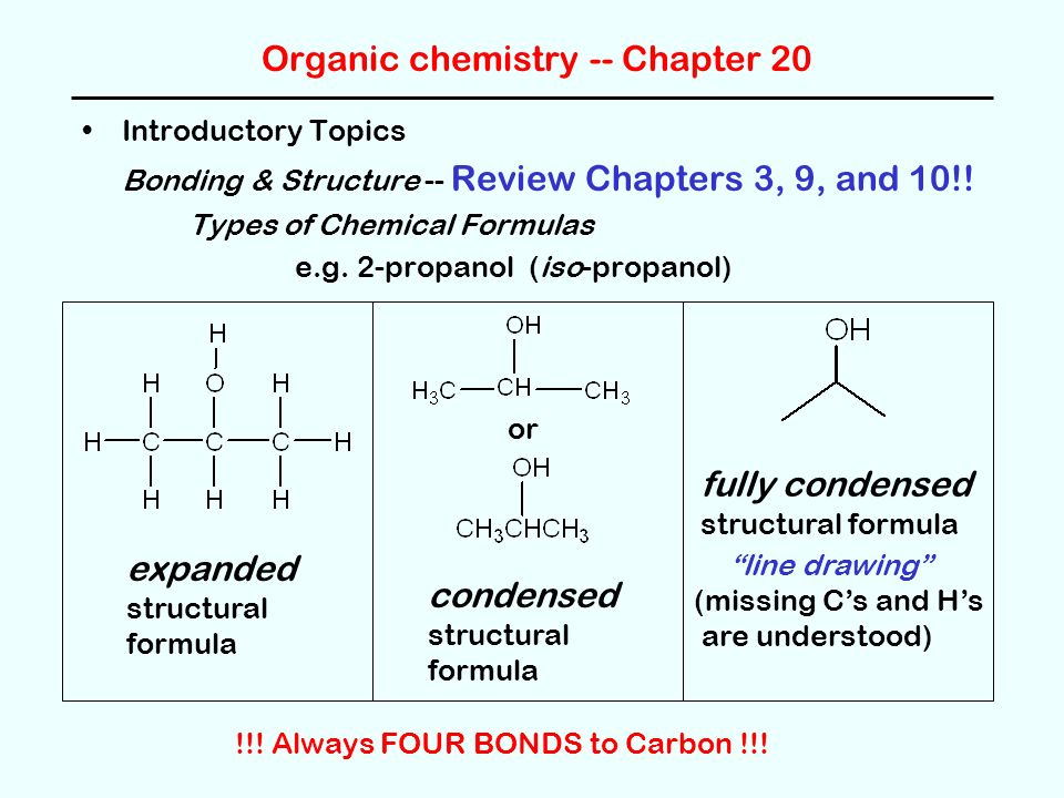 Line Drawing Chemistry : Ch review nomenclature organic compounds ppt video
