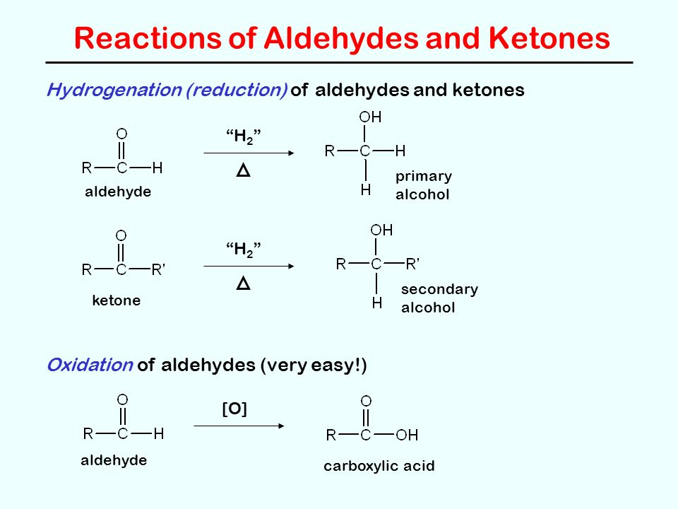 reactions of aldehydes and ketones with Aldehydes and ketones are organic compounds which incorporate a carbonyl   aldehydes and ketones are obtained as products from many reactions.