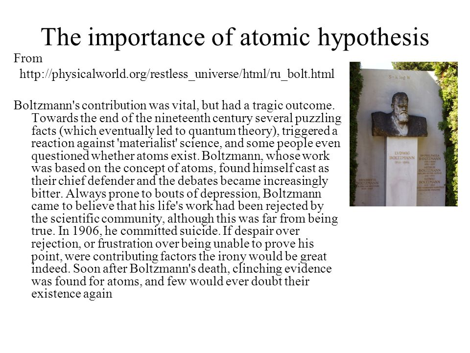 importance of hypothesis Provides an overview of the logic behind hypothesis testing to introduce key  concepts and terminology it highlights the importance of understanding and.