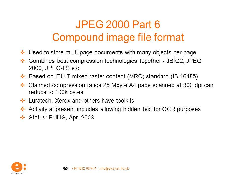 JPEG 2000 Part 6 Compound image file format
