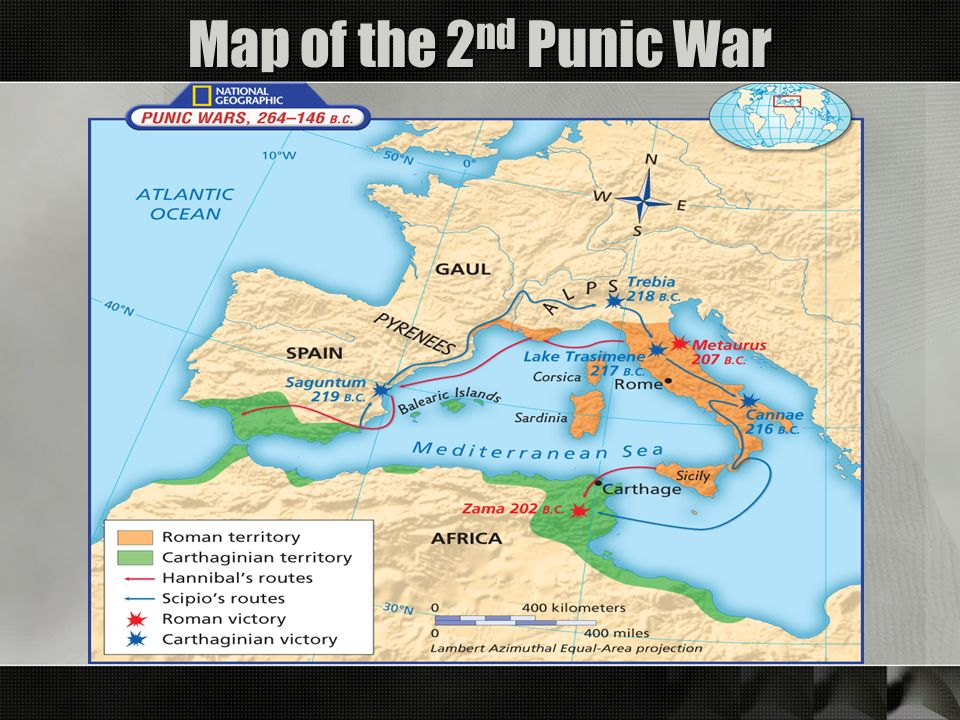 ROME Part Ppt Video Online Download - Ancient rome map zama